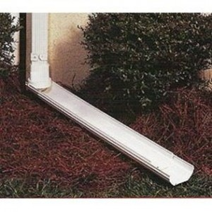L.B. Plastics Downspout Extension (3′ to 6′ long)