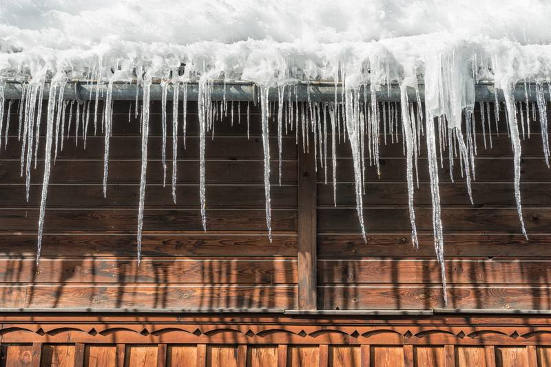 Ways That Ice Can Damage Your Home