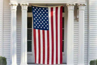 American Flag Display