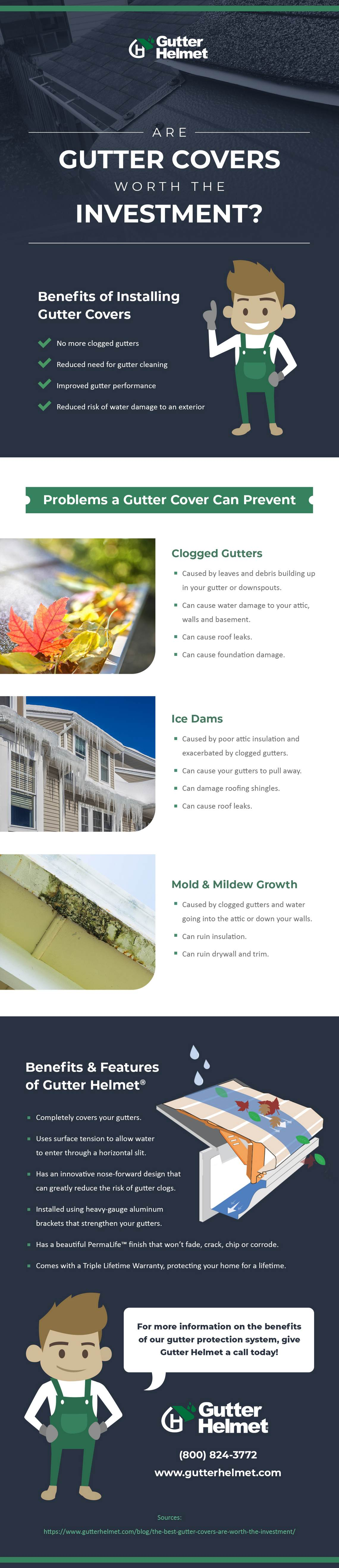 Infographic – Are Gutter Covers Worth the Investment